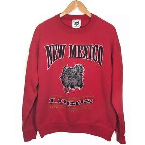 Vintage 90s New Mexico Lobos Sweatshirt